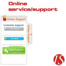 Sliding Online Service-Support modul za OpenCart 1.5.1.x