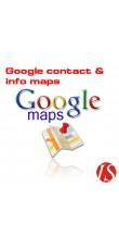 Google kontakt mapa za OpenCart 1.5.x.x